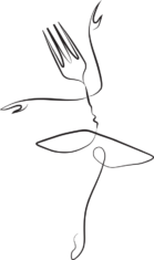Little Dancer Logo Gabel